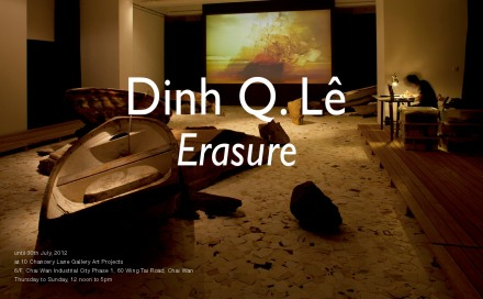Dinh Q. Lê - ERASURE at 10 Chancery Lane Gallery Art Projects, Hong Kong